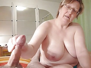 Asian milf sucking off the big fat erect pecker 9