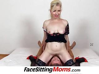 Free HD Granny Face Sitting