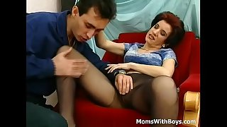 Old Horny Mama Fucked In..