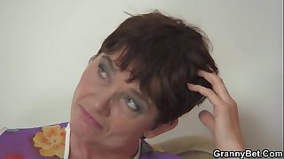 Hot 60 years old woman in..