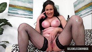 Big Tits Mature Alexandra..