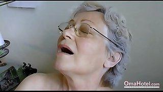 OmaHoteL Hairy Granny Pussy..
