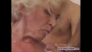 Grandma Fucked And Creampied..