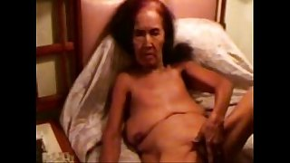 Pervert granny smoking ad..
