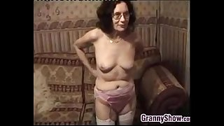 Grandmother Stripping And..