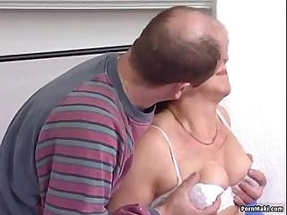 Redhead granny getting fucked