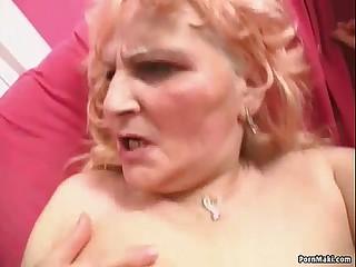 Sexy blonde granny prefers..