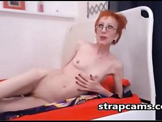 Good looking skinny granny..