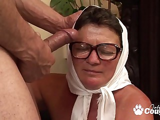 Granny Climbs Out Of Her..