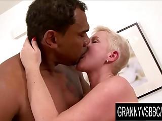 Granny Vs BBC - GILF DD Gets..