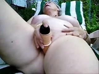 Pervert granny maturbating..