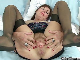 British granny fulfills her..