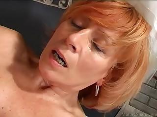 Attractive granny pleasing..