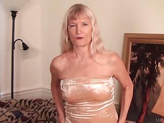 Skinny granny Nancy..