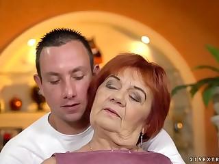 Old granny Marsha