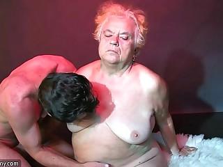 OldNanny Fat big granny have..