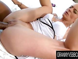 Granny Vs BBC - GILF Roxette..