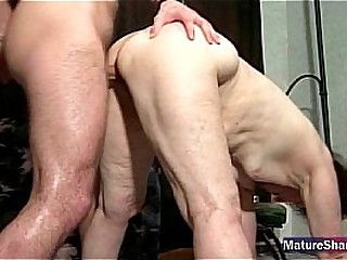 Flabby Old Granny Gets Fucked