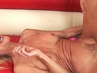 Sexy Blonde Granny