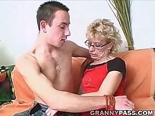 Granny Slut Wants Young Dick