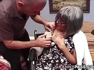 Busty Granny Needs Sex