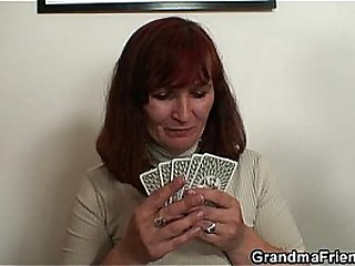 Granny loses poker and..