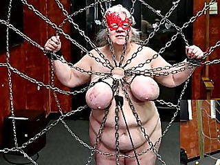 Granny submissive has her..