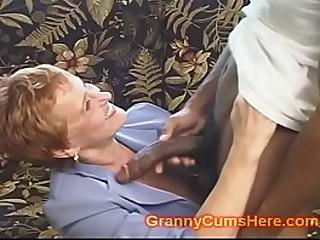 School Teacher GRANNY gets..