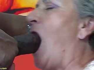 horny crazy mom first time..