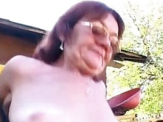Granny slut fucks guy Nonna..