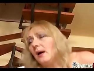 Hot BBW Granny With Big..