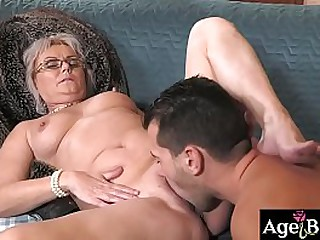 Granny Elvira sucks..
