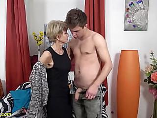 skinny extreme sexy granny..