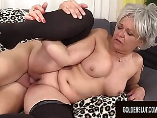 Granny Kelly Leigh Is Horny..