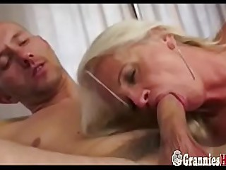 Attractive Granny Blonde..