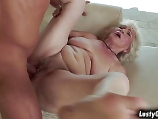 Old granny Norma B loves the..