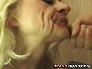 Squirting Granny Takes Rough..