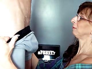 Sexy Granny Sucks and..