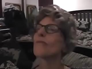 granny fuck son