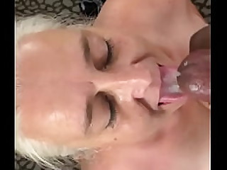 Granny takes load