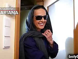 Kinky granny Mariana excited..