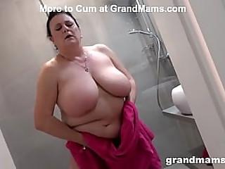 Big titties granny is always..