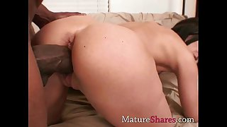 Horny housewife with big..